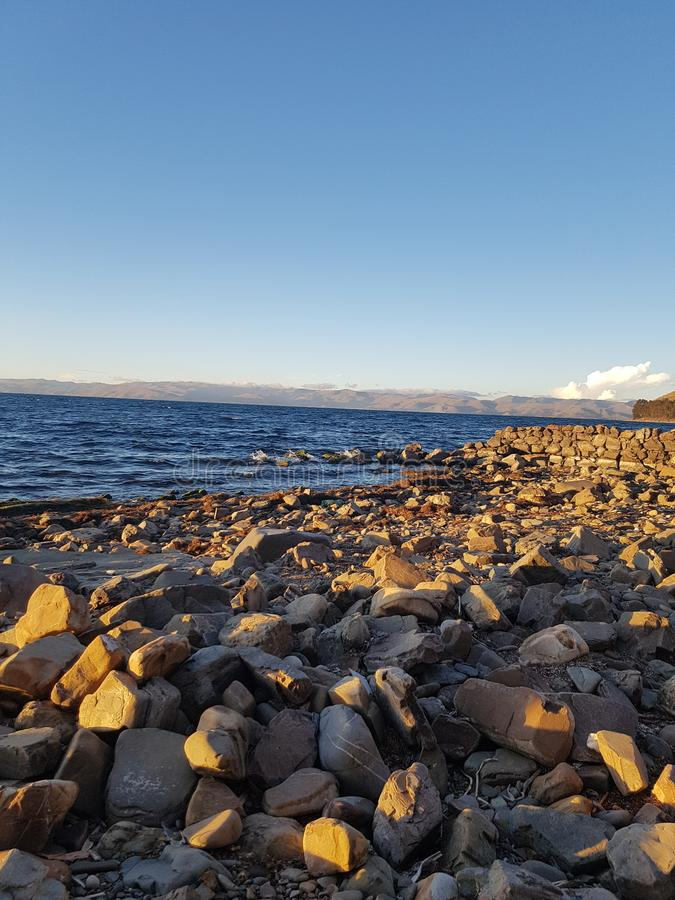 Voyage de la Bolivie photographie stock
