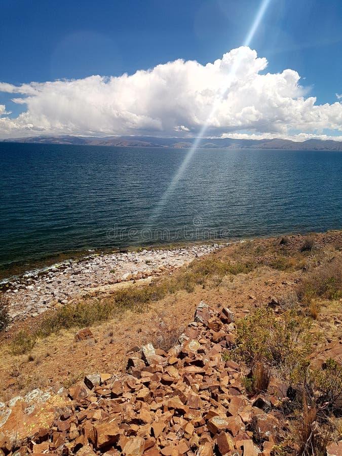 Voyage de la Bolivie images stock