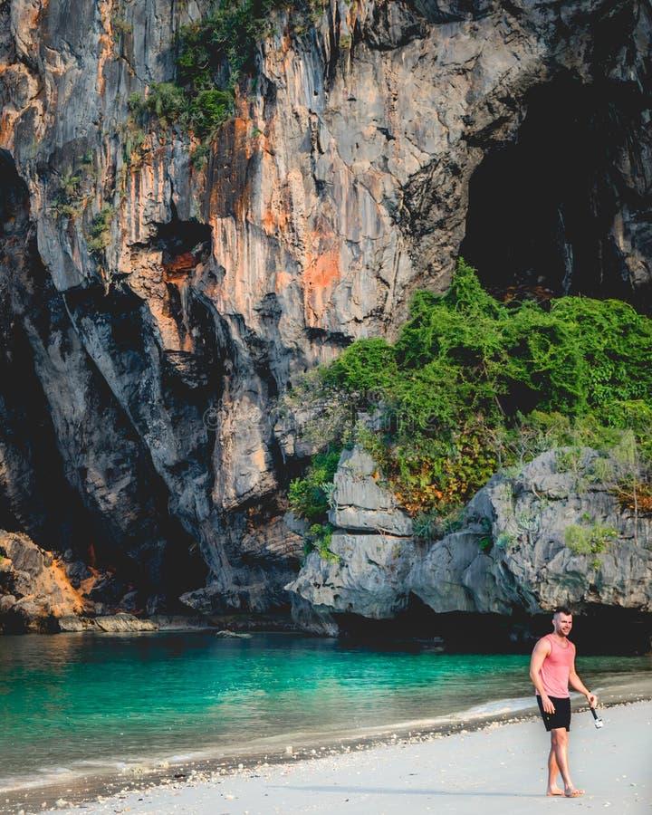 Voyage de luxe tropical exotique d'aventure en Thaïlande photographie stock libre de droits