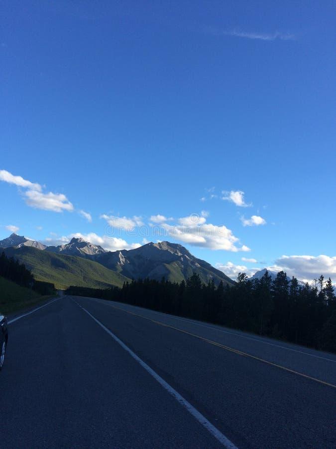 Voyage de montagnes photo libre de droits