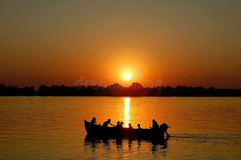 Voyage de pêche photographie stock