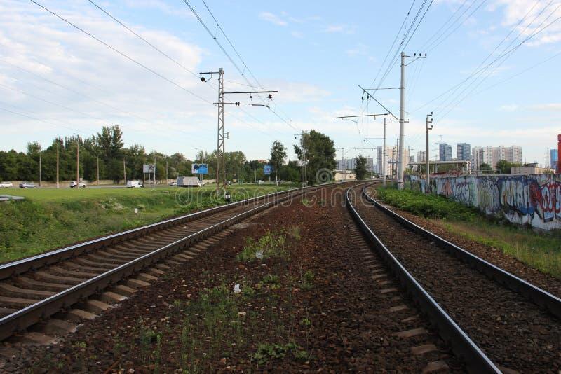Voyage de rail photographie stock libre de droits