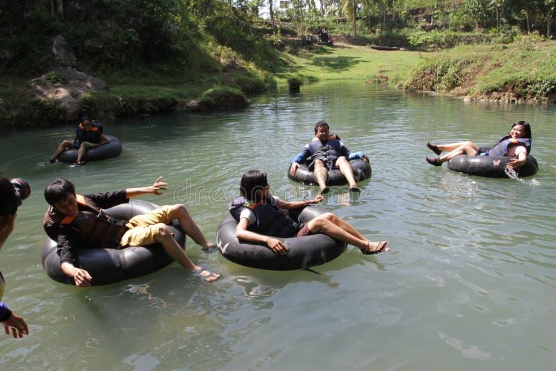 Voyage de rivière images libres de droits