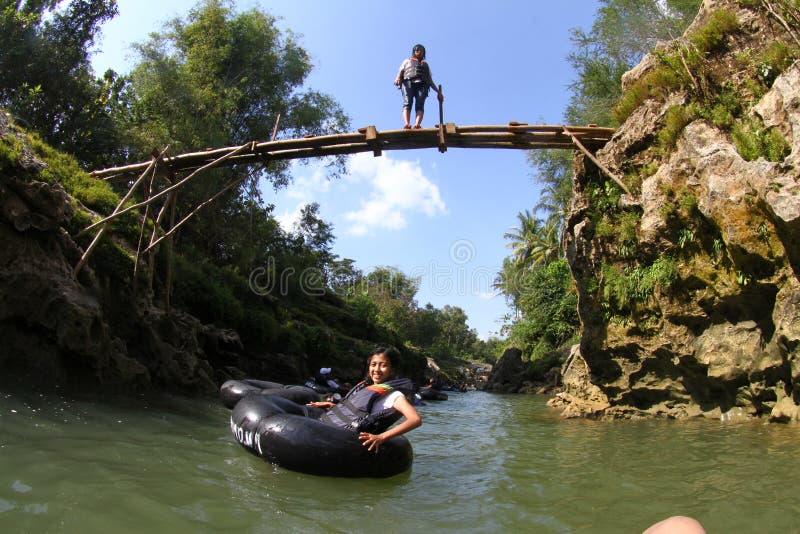 Voyage de rivière photographie stock