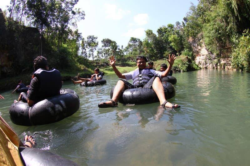 Voyage de rivière photo libre de droits