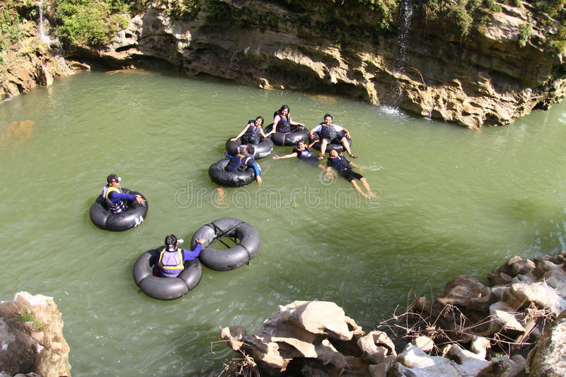 Voyage de rivière image stock
