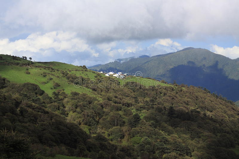 Voyage de Sandakphu images stock