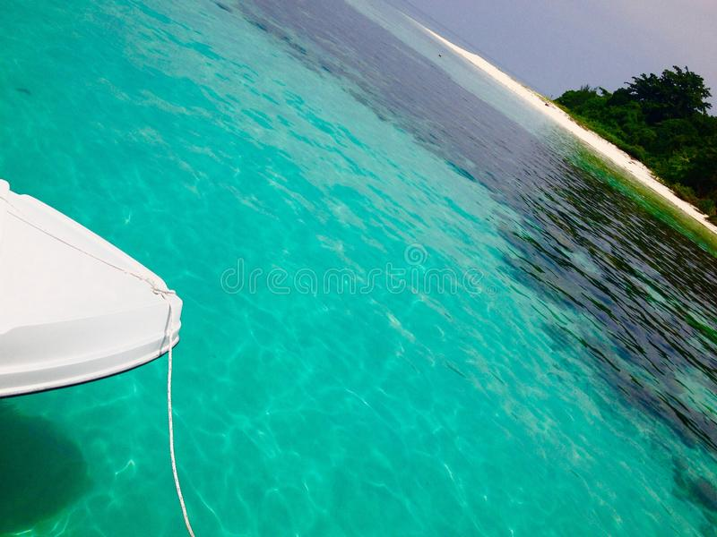 Voyage et vacances tropicaux d'île de concept abstrait de fond photos libres de droits