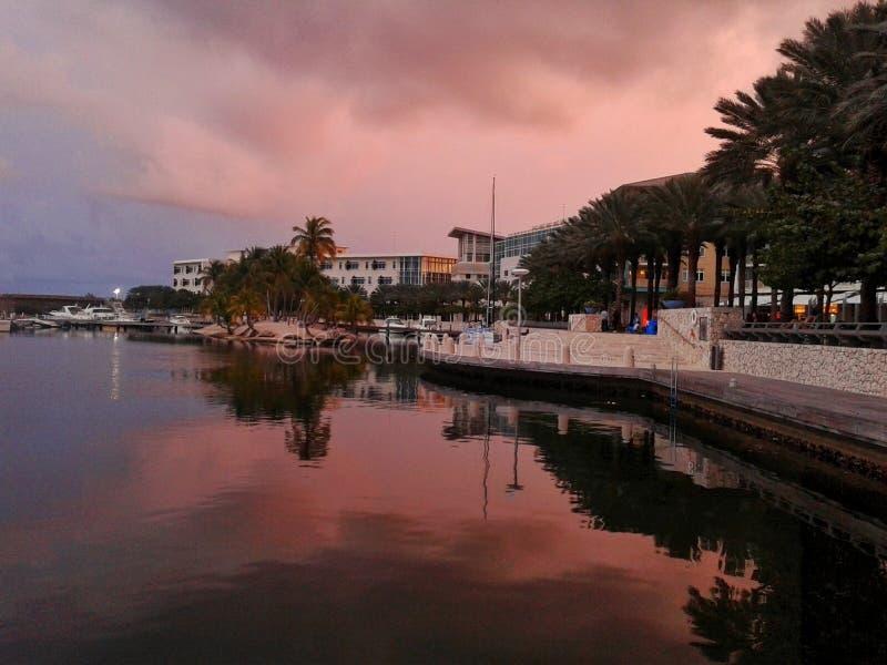 Voyage Grand Cayman images libres de droits