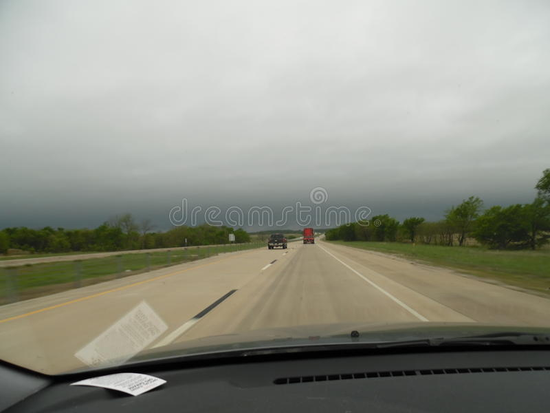 Voyage par la route de l'Oklahoma images stock