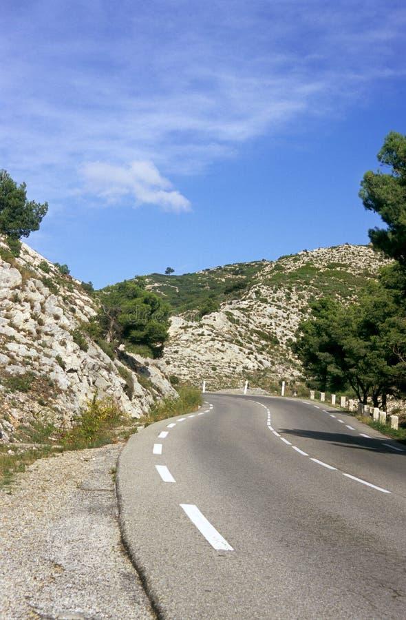 Voyage par la route en France photos stock
