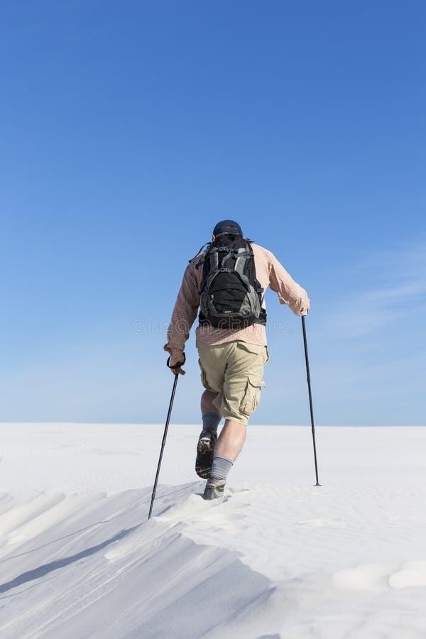Voyage par le désert images stock