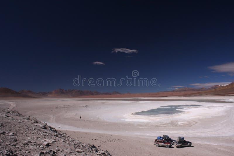 Voyage sur le Blanca de Laguna photographie stock libre de droits