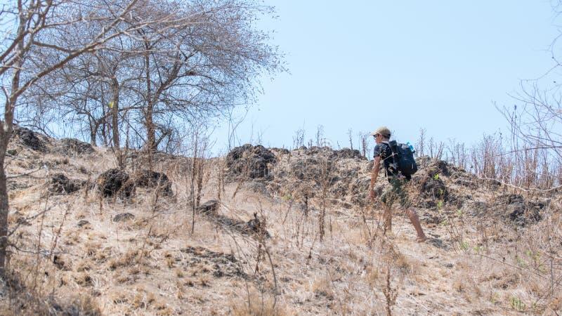 Voyage vers l'île de Komodo images stock
