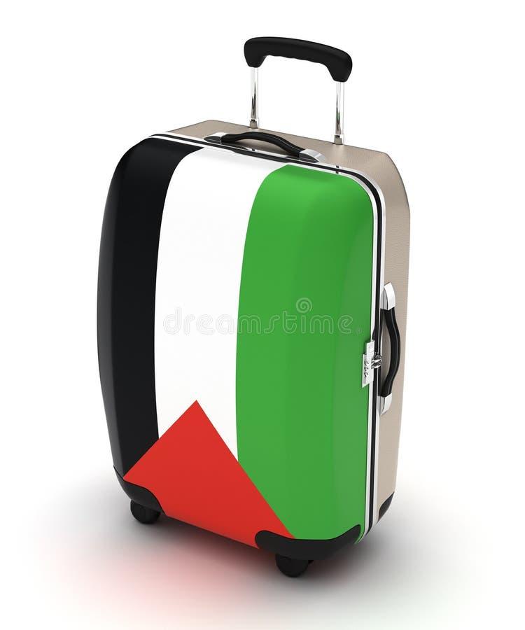 Voyage vers la Palestine illustration de vecteur
