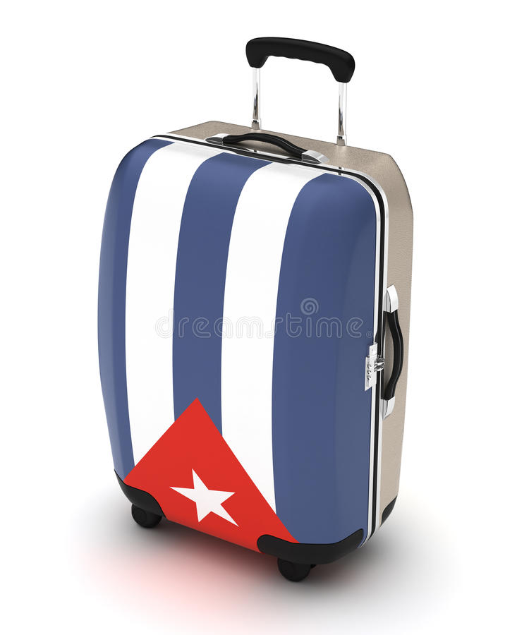 Voyage vers le Cuba illustration stock