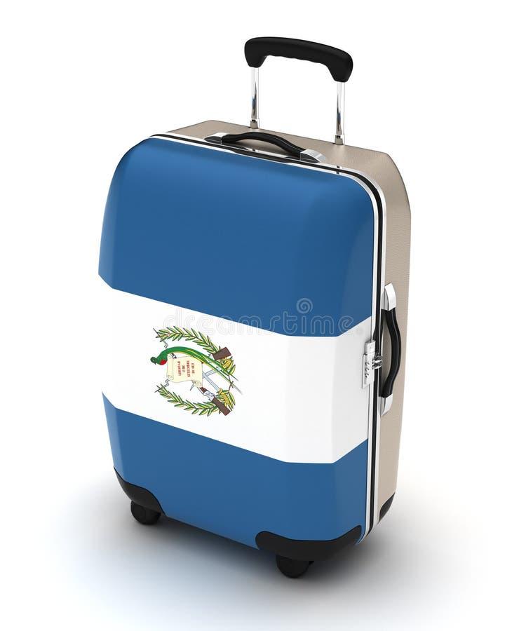 Voyage vers le Guatemala illustration libre de droits