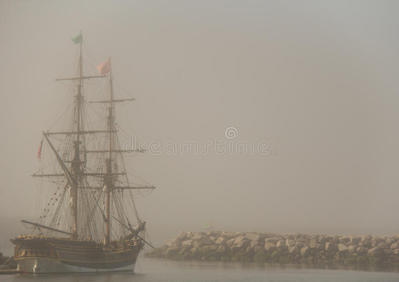 Voyages of Discovery - Tall Ships stock photo