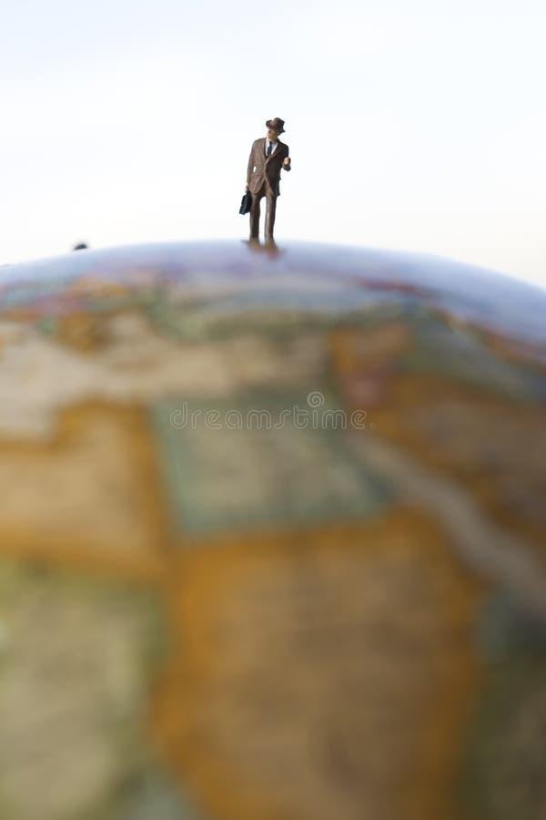 Voyageur d'affaires photo libre de droits