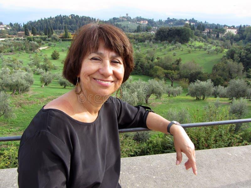 Voyageur de la Toscane photos libres de droits
