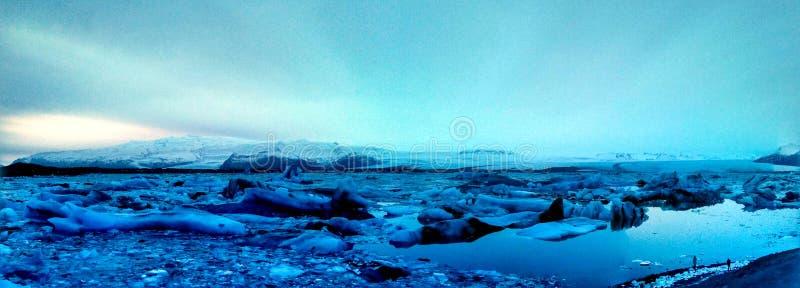 Voyageurs d'iceberg photographie stock