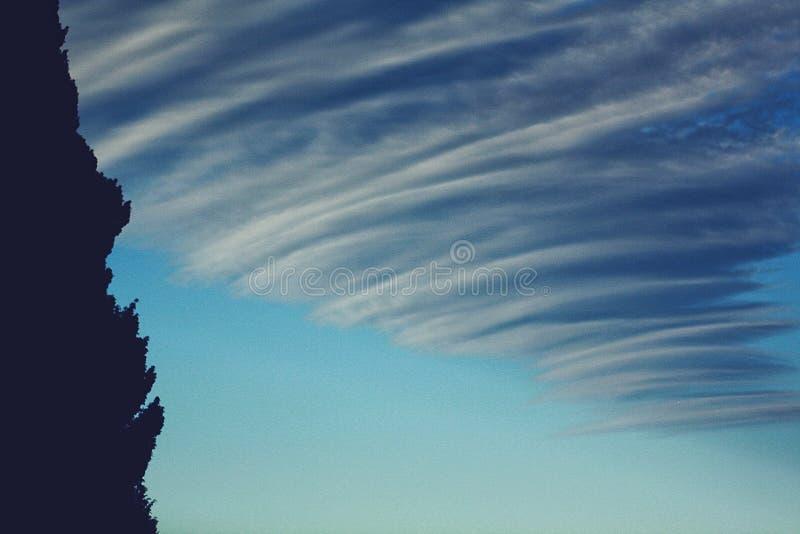 voyez le ciel photo stock