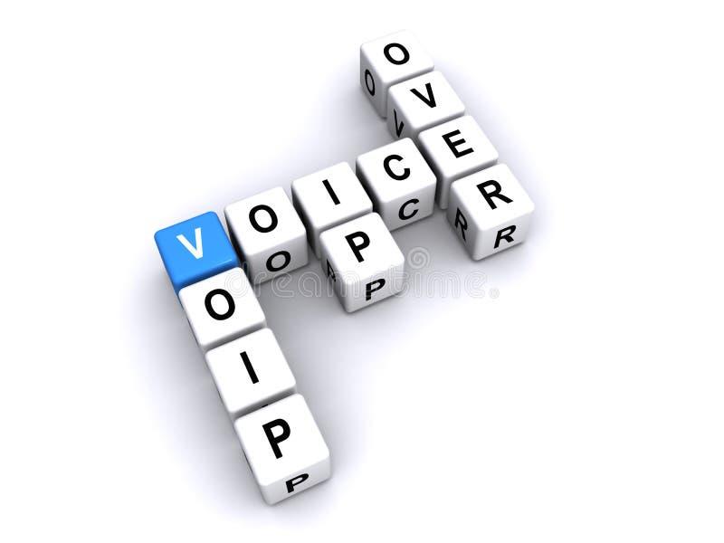Voz sobre el IP libre illustration