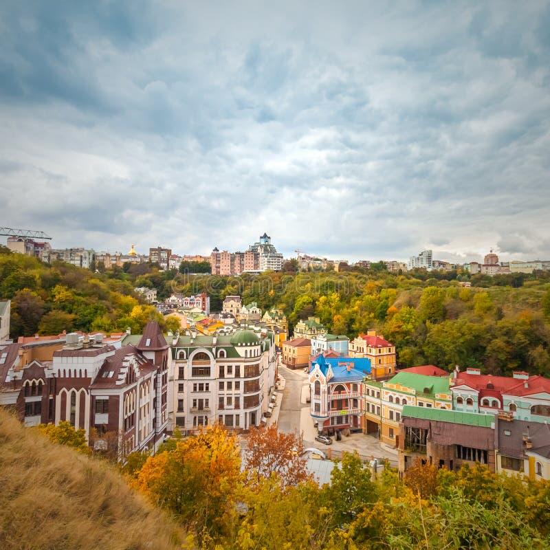 Vozdvizhenka elita okręg w Kijów zdjęcie royalty free