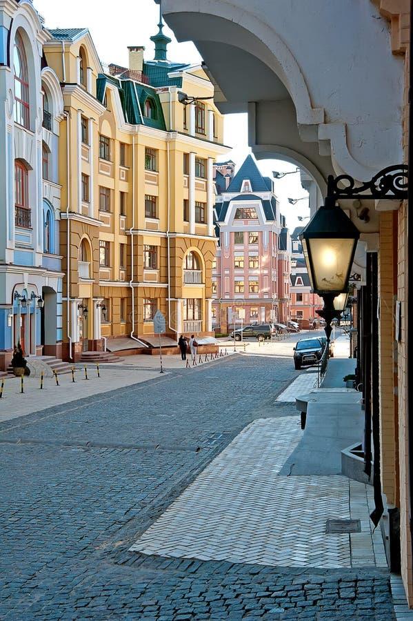 Vozdvizhenkadistrict in Kiev, de Oekraïne 2 royalty-vrije stock afbeeldingen