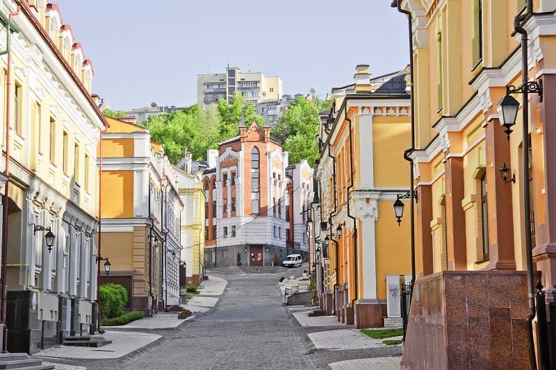Vozdvizhenkadistrict in Kiev, de Oekraïne 3 royalty-vrije stock foto's