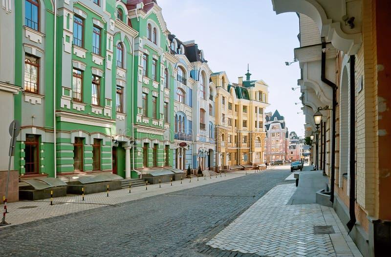 Vozdvizhenkadistrict in Kiev, de Oekraïne 5 royalty-vrije stock foto's
