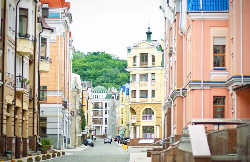 Vozdvyzhenskaya Street Royalty Free Stock Photography
