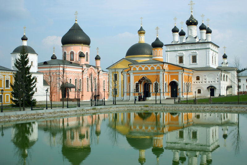 voznesenskaya μοναστηριών davido στοκ εικόνα