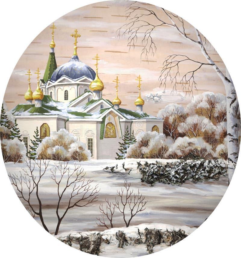 Voznesensky Kathedrale, Kreis lizenzfreie abbildung