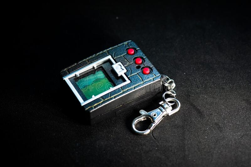 VPet 20th anniversary edition. Kuching, Malaysia - May 2019. VPet 20th anniversary edition, Virtual Pet for the 20th Anniversary of the Digimon franchise but royalty free stock image
