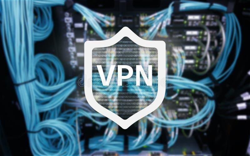 VPN、虚拟专用网络技术、代理人和ssl,网络安全 图库摄影
