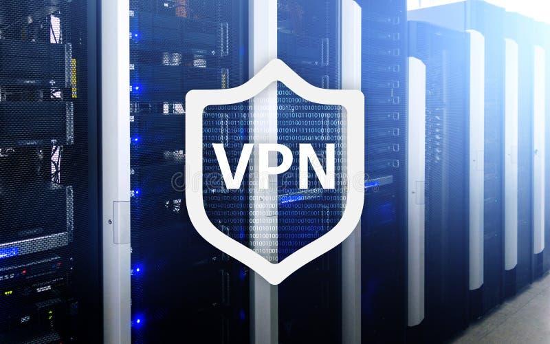 VPN, технология виртуальной частной сети, полномочие и ssl, безопасность кибер стоковое изображение rf