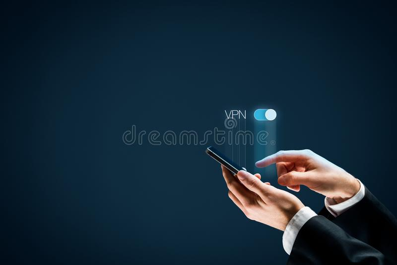 VPN concept royalty free stock images