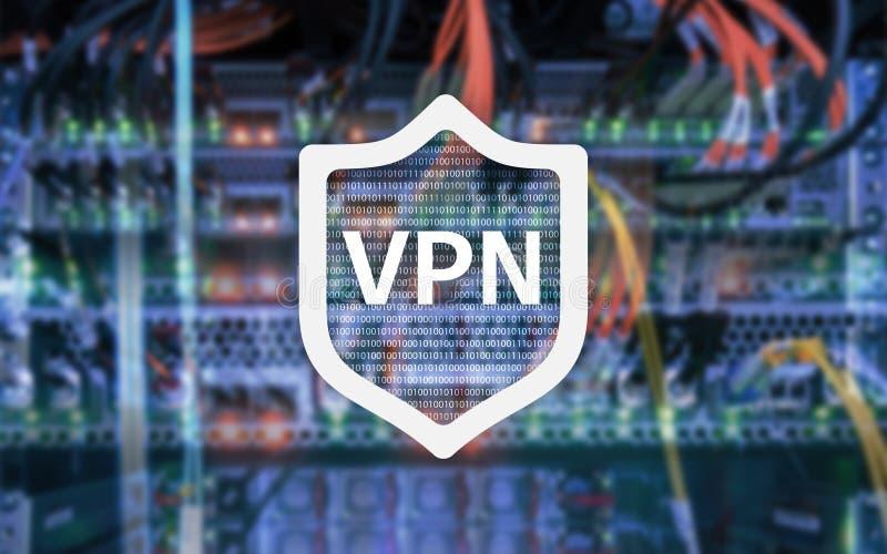 VPN, faktisk teknologi för privat nätverk, närstående och ssl, cybersäkerhet arkivbild