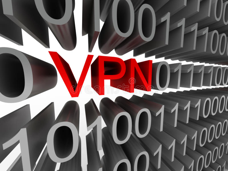 VPN royalty free stock image