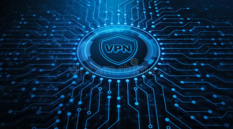 VPN network security internet privacy encryption concept stock photos