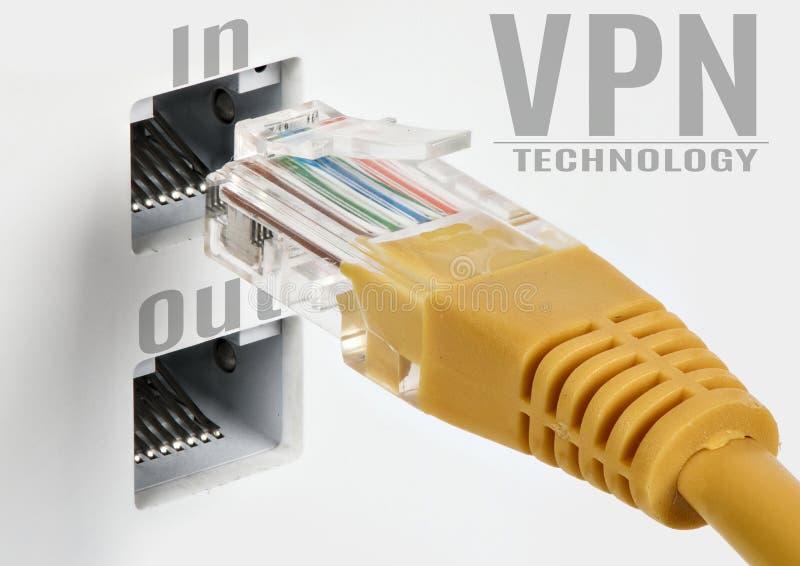 VPN technology concept royalty free stock photos