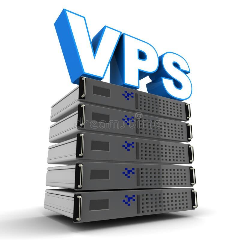 VPS 库存例证