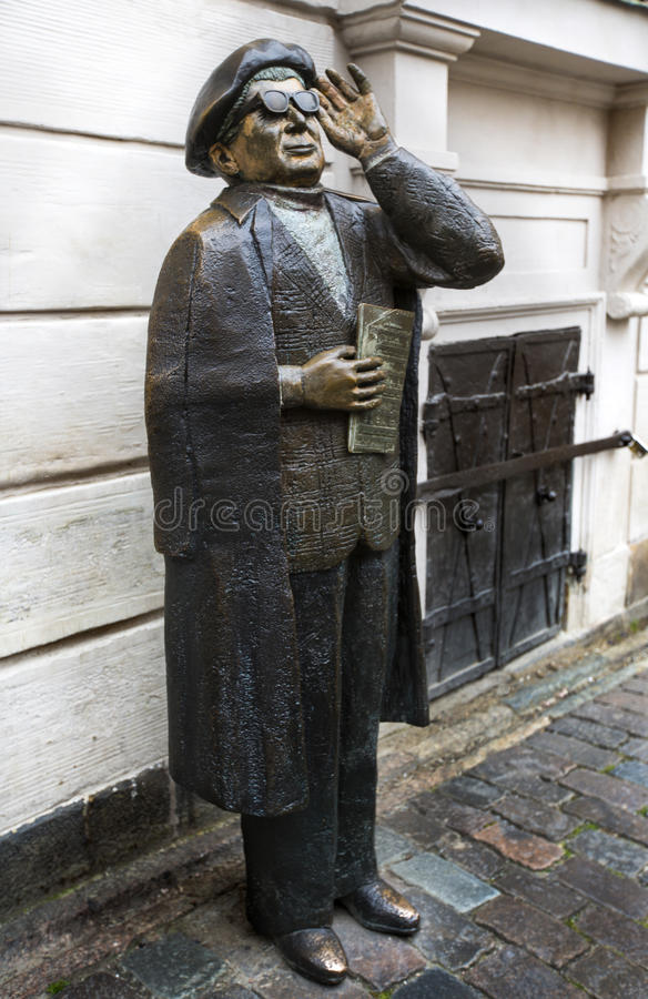 Vränga den Taube monumentet stockholm royaltyfria foton