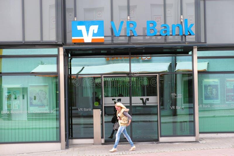 VR bank obraz royalty free