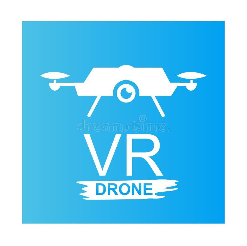 VR drone illustration design art stock photography