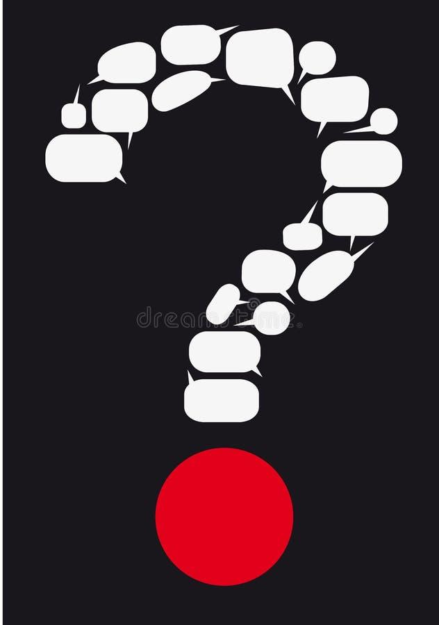 Vraag stock afbeelding