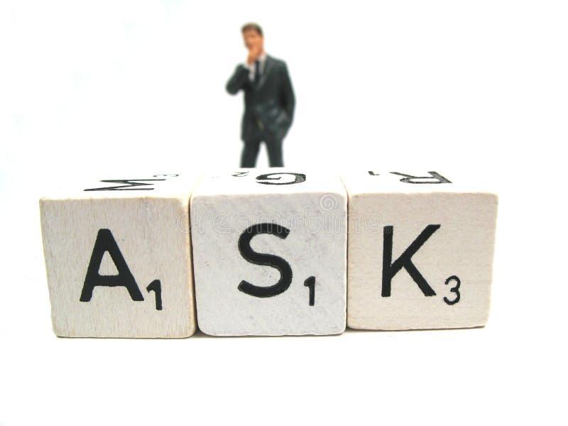 Vraag stock afbeeldingen