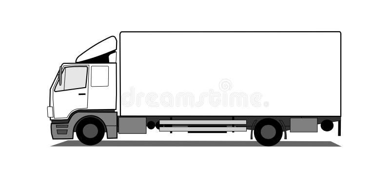 Vrachtwagen stock illustratie