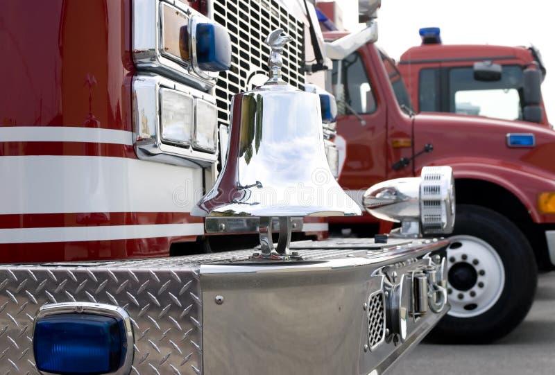 Vrachtwagen 2 van de brand royalty-vrije stock foto
